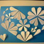 Мастер-класс Бумажное сердце из сердечек