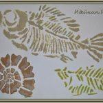 Красивое объёмное панно «Морские ископаемые», мастер-класс
