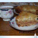 Насыпной пирог «Наташка» яблочно-творожный