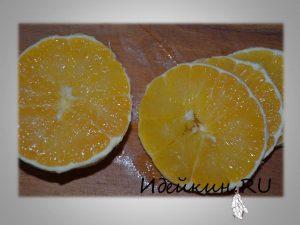 Апельсин, шарлотка