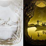 Вытынанки – искусство вырезания узоров из бумаги