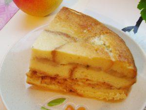 шарлотка с черствого хлеба