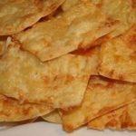 Хрустящие чипсы из тонкого лаваша