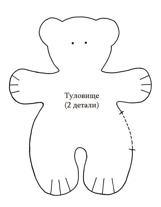 Выкройки мишек тильды своими руками