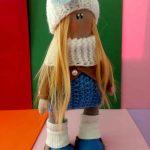 Текстильная куколка Василиса