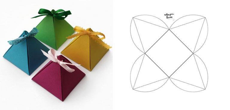 Как сделать маленькую коробочку подарочную своими руками