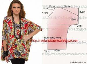 40b1adff291 Самые простые выкройки летних блузок