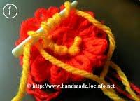 1 Большие объемные цветы своими руками