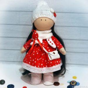 Интерьерная текстильная кукла это
