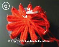 Большие объемные цветы своими руками из ниток
