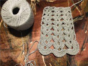 схема вязания юбки крючком для женщин