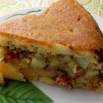 Наливной пирог с мясом рецепт