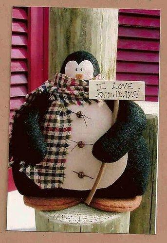 пингвин выкройка