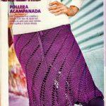 Красивая юбка крючком схема