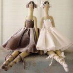 Три Тильды балерины выкройки