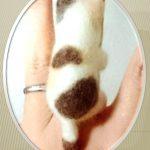 Украшения из шерсти своими руками Кольцо – кот Мичико