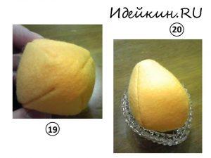 Как пошить пасхальное яйцо