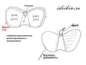 Универсальная прихватка-бабочка