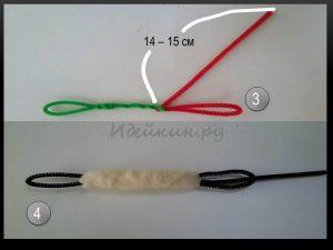Кото-браслет из валянной шерсти