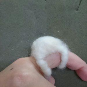 Кольцо из шерсти для валяния