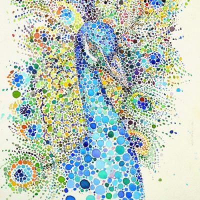 Точечные картины Анны Еншиной