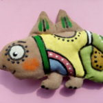 Роспись лица текстильной куклы акриловыми красками мастер-класс