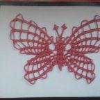 Бабочка крючком для начинающих