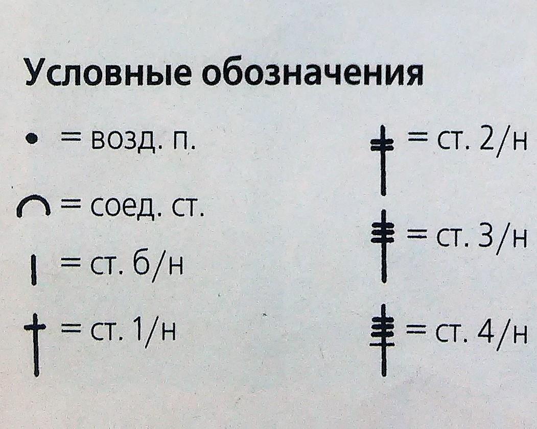 бабочка схема крючком