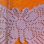 Бабочка филейное вязание крючком