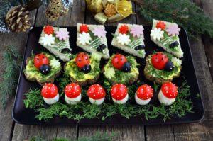 Украшение блюд праздничного стола своими руками c фото