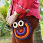 Летняя сумочка крючком Сова