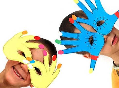 карнавальные маски своими руками