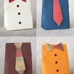Упаковка из бумаги для мужского подарка