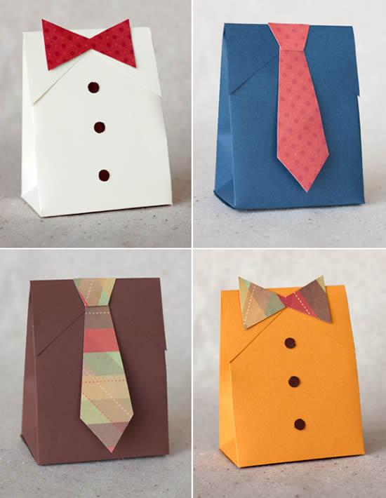 Поделки бумаги мужчин