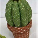 Как сделать кактус из ткани пошагово