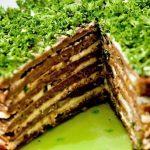 Печеночный торт со сметаной