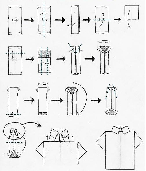 Открытка пошагово рубашка с галстуком, картинка бабка прикольные