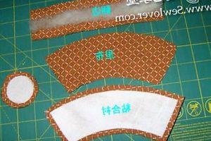 горшочек для кактуса из ткани