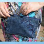 Как сшить сумку из джинсов своими руками выкройки