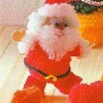 Новогодние игрушки своими руками — дед Мороз, снеговик и ёлка