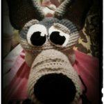 Карнавальный костюм волка крючком