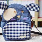 Детская сумка «Джинсовый щенок»