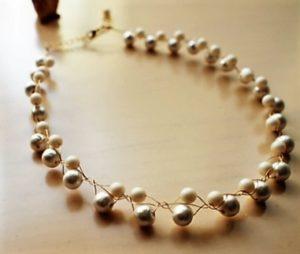 Ожерелье из жемчуга своими руками