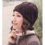 Теплые женские шапки крючком
