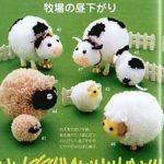 Забавные животные из помпонов
