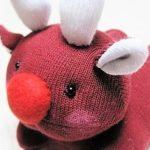 Как сделать мягкую игрушку из носка-Лось