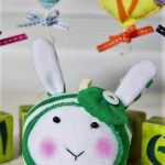 Мягкие игрушки из носков своими руками-Зайчик
