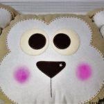 Декоративная подушка своими руками мастер класс фото в виде обезьянки