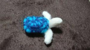 Валяный брелок морская черепаха