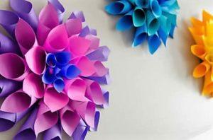 Как украсить комнату своими руками из бумаги
